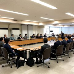 松江市議会経済委員会 議会報告会(意見交換会)